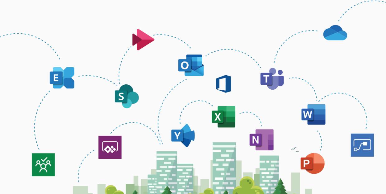 Microsoft Suite Logos